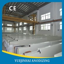 Horizontal Aluminum Anodizing Line for Aluminum processing Foshan China