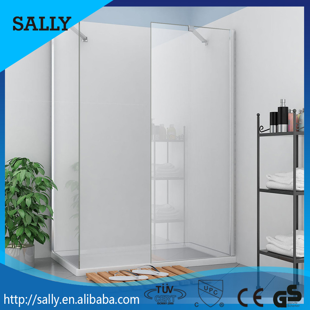 SALLY 8mm glass thickness 600mm enter access cheap folding shower door