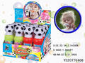 New toys for kids bubble shooter gun toy 2 in 1 football bubble kit blow colorful bubble set