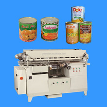 Fully automatic metal can tin labeling machine