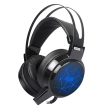 Salar C13 Wired USB Gaming Headphone Deep Bass Sound Computer wired headphones with mic and led for pc gamer