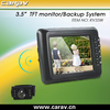 "Car Rear View 3.5""wireless reversing system car monitor&car camera"