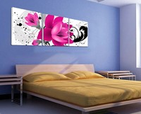 3PanelsHuge Modern Painting CanvasCharmPicture Superb Picture Superb Canvas flower Wall Art 1140