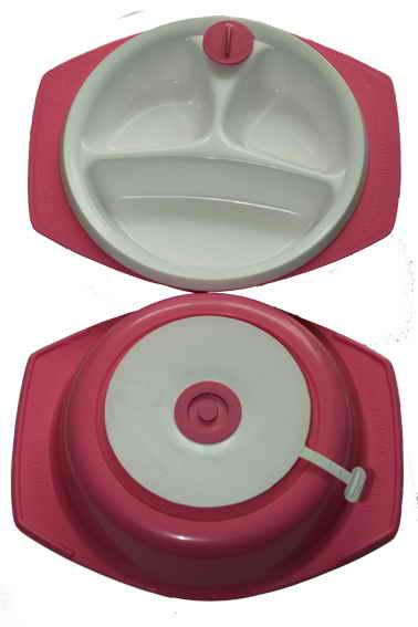 Hot Water Plate with Suction