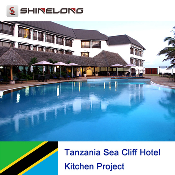 Tanzania Sea Cliff Hotel Kitchen Project