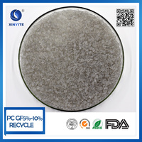 Grey color Recycled PC material polycarbonate PC