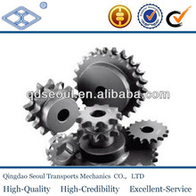 DIN 8187 ISO/R 606 material C45 weld on hub 08b-1 pitch 12.7 roller 8.51 8T roller chain sprocket 1/2*5/6