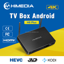 Newest HiMedia Android TV Box Qcta Core 2G/16G Bluetooth4.0 WIFI 2.4GHz Android5.1 Support 7.1 HD Audio Internet Android TV Box