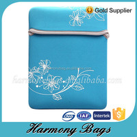 19 inch waterproof Neoprene laptop sleeve bag without zipper