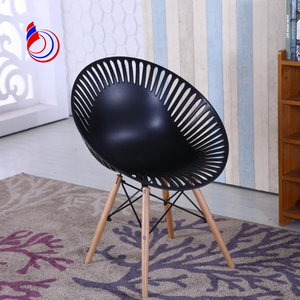 Modern design fancy plastic chair PC001