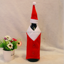 2015 Classic Household Christmas Decorations Wine Bottle Covers Santa Claus Ornaments