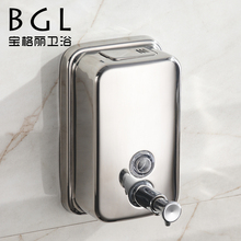 wall mounted stainless steel 1000ML liquid soap dispenser