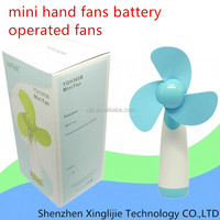 Handheld Mini Portable Air Battery Operated Summer Cooling Super Mute Fan Desk