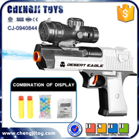 Hot sale kids soft bullet shooting game toy electric water gun