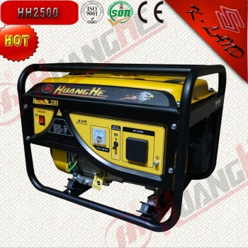 Four stroke and single cylinder 6.5hp gasoline generator set
