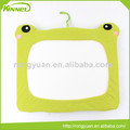 Frog shape fabric cushion cover home decoration hanging whiteboard