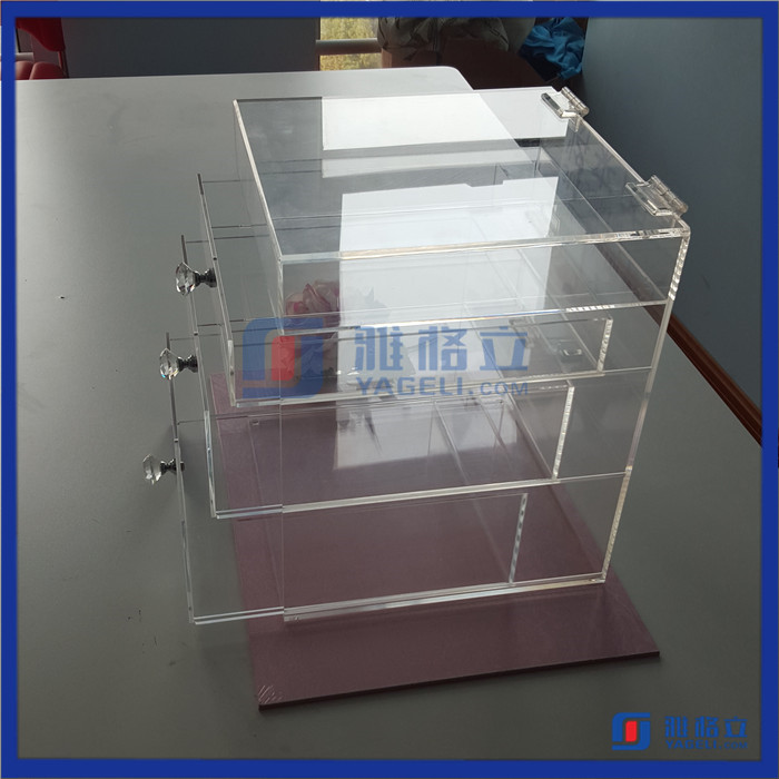 Wholesale high quality acrylic makeup organizer china acrylic jewelry & cosmetic storage display boxes
