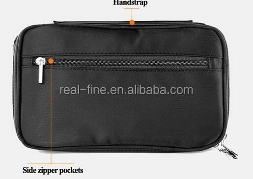 Professional Beauty Makeup Brush Set Organizer Makeup Artist Case With Belt Strap Multifunctional Cosmetic Bag