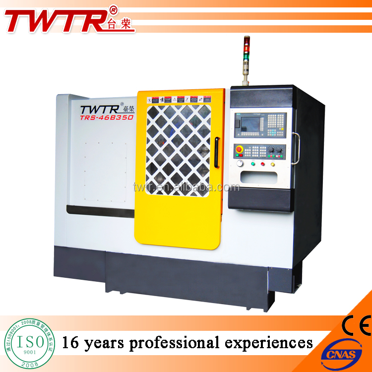 Traub Single Column Cnc Machine With Collet and Live Tool Turret