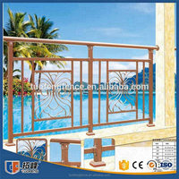 Stainless Galvanized steel Balcony fence