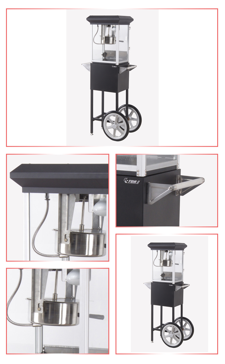 Wholesale popcorn machine with wheels mobile vehicles