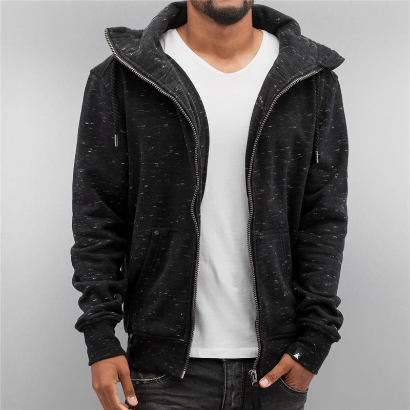 Stylish mens hoodies black fashion hoodies wholesale fleece hoodies