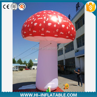 Wholesale inflatable decorations,LED lighting inflatable mushroom for event,party,show decoration
