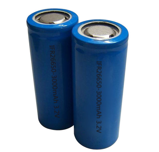 Lifepo4 26650 rechargeable battery 3.2v 3000mah