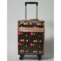 Air Balloon Printed Trolley Luggage/Travel Suitcase/School Bag