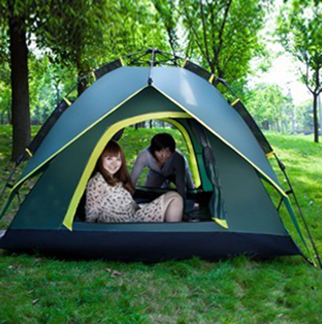 High Quality New Tents 2 person 2016 Outdoor Camping Equipment Waterproof Double Layer Camping Tent