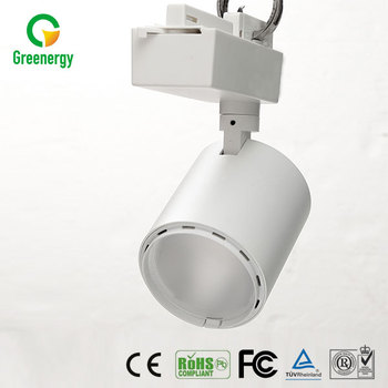 High power CE approval aluminum dimmable 30w spotlight cob led track light