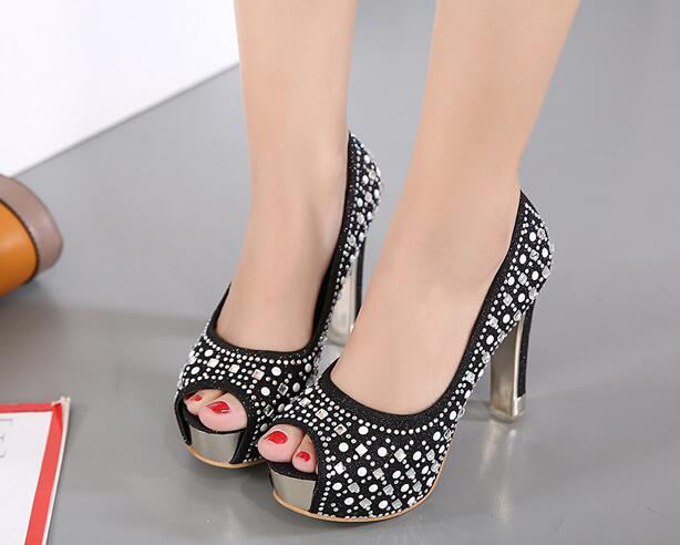 Wholesale cheap big size women high heel sexy ladies web sandals