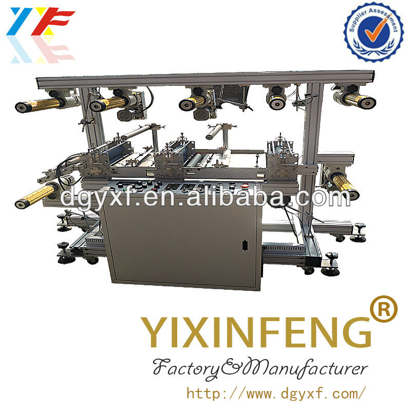 Multilayer Copper Foil Laminating Machine With Heating