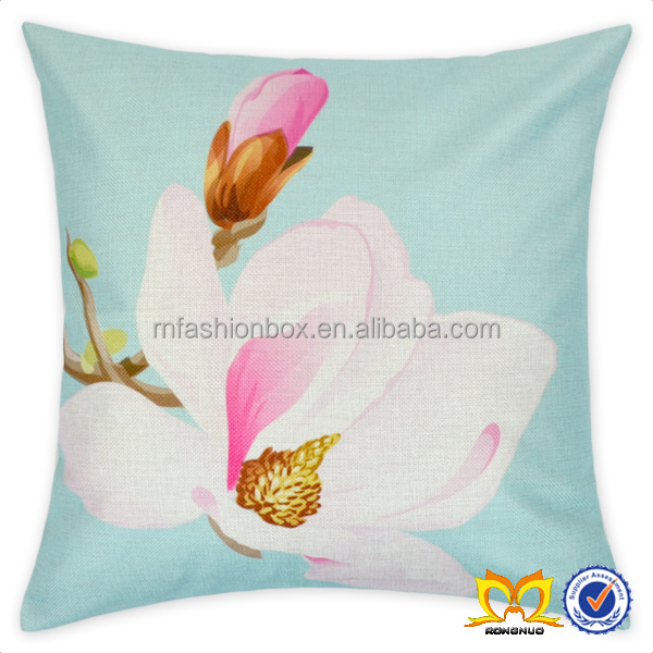 Painting Flower Throw Pillow Cover Decorative Pillow Cover Cushion Cover Wholesale