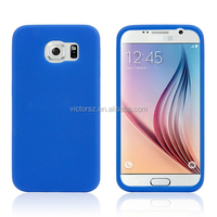 For Samsung Galaxy S6 Phone Cover Soft Rubber Silicone Case