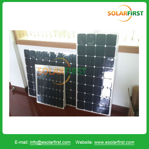Hot sale high efficiency sunpower 120w marine semi flexible solar panel prices for carvan boat with factory price