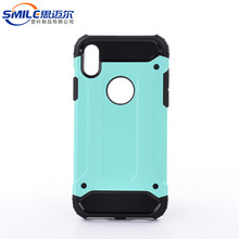 Smart tpu pc mobile cell phone case for iphone X case