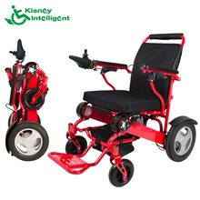 small collapsible electric wheelchair for disabled people