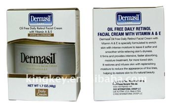 oil free daily retinol facial cream with vitamin A&E/Hypo-allergenic/daily cream