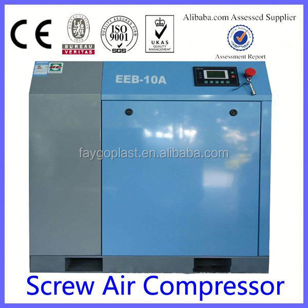 DELT DRIVING PORTABLE SCREW AIR COMPRESSOR italy air compressor italy air compressor