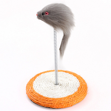 new arrivals 2018 cat products crazy mouse teaser wand kitten toys