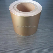 Best price golden color tobacco packaging Aluminium foil paper composite film