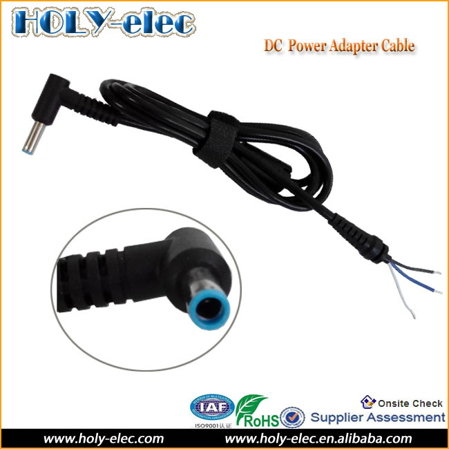 Laptop Adapter DC Power Cable With 4.5mm x 3.0mm Plug Tip
