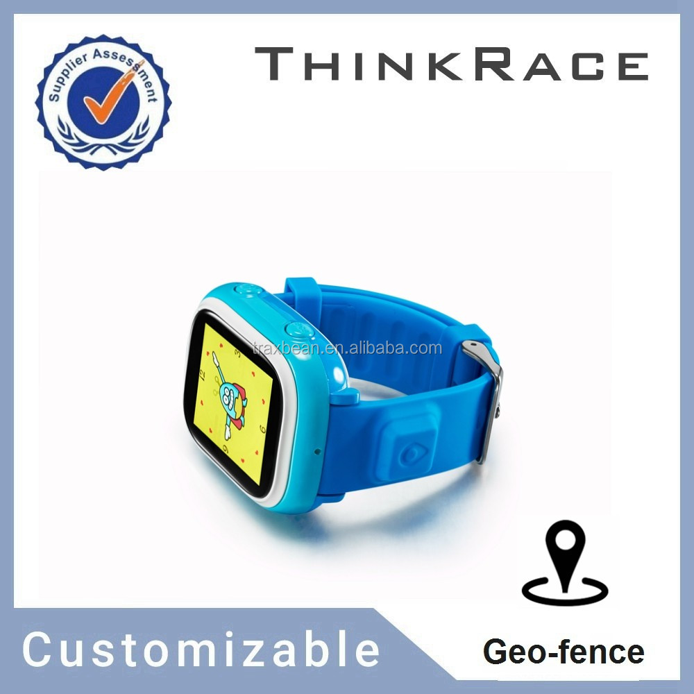 Touch screen senior sos waterproof gps tracker wifi bluetooth