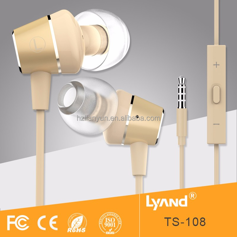 New design factory price wholesale earbuds in ear earphones for Android