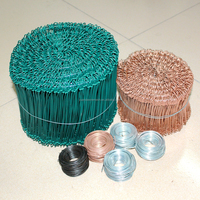 China cheap Pvc coated galvanized iron binding tie wire for making chicken poultry wire mesh / hanger wire cheap ton price