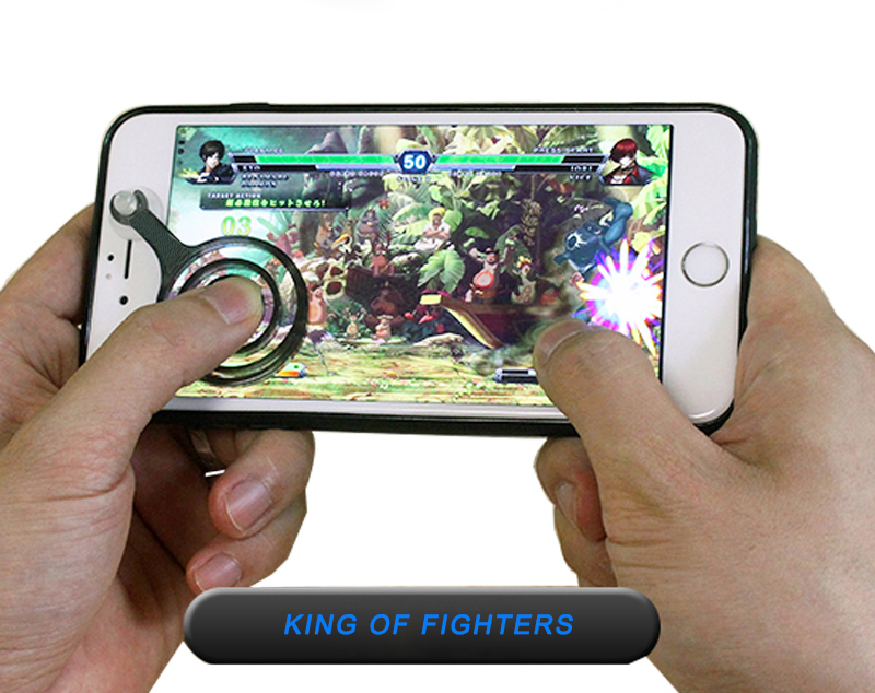 BSCI factory newest hot products mobile phone joystick fling mini game playing mobile joystick