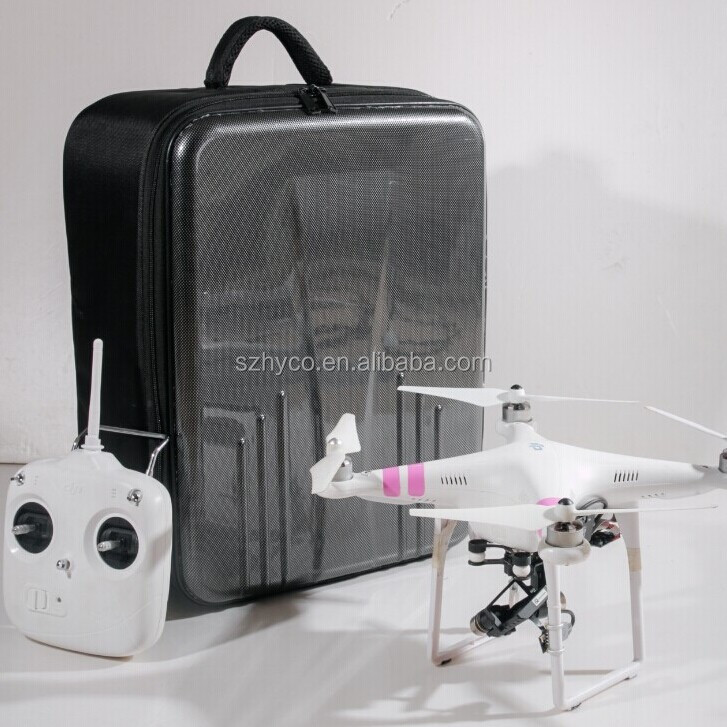 New Carbon fiber DJI case for DJI Phantom 2 vision vision+, Walkera X350 and X350 pro compatible