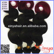 2014 super hot sell high quality two colored synthetic braiding hair