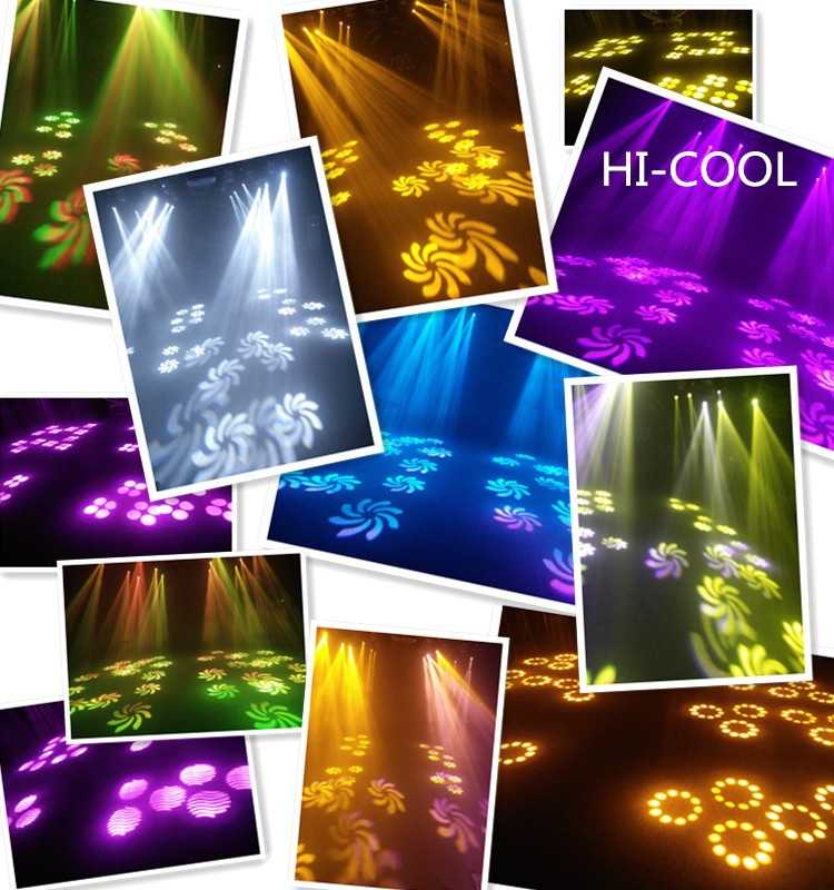 Guangzhou popular light stage equipment factory wash spot beam 60w led moving head